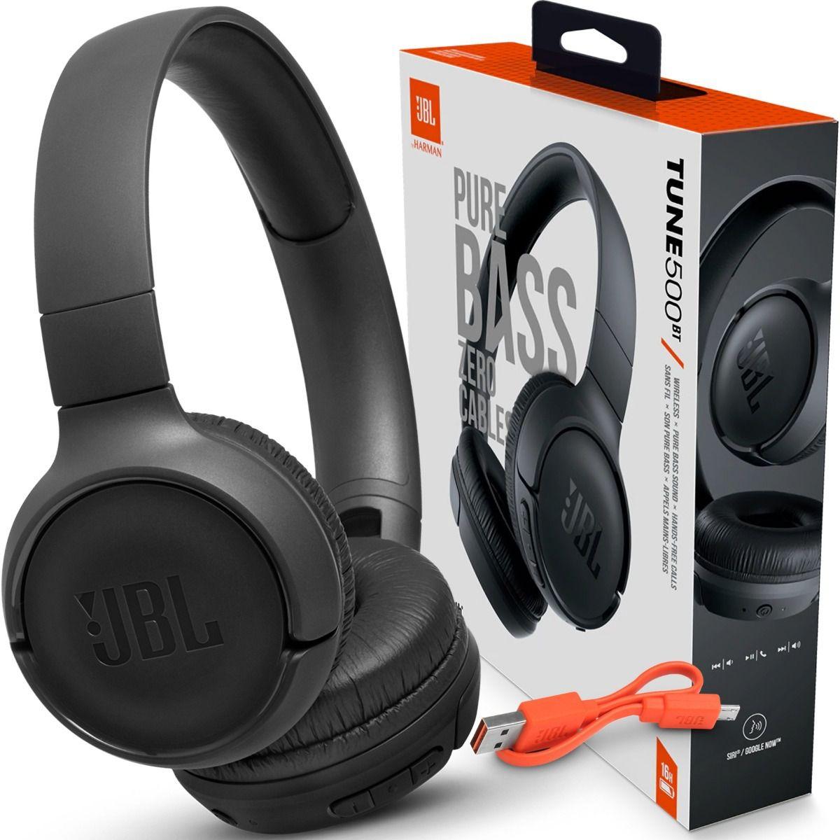 Headphone JBL Tune 500BT Wireless Bluetooth