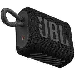 Caixa de Som Bluetooth Speaker JBL Go 3 4.2W RMS