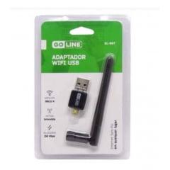 Adaptador USB Wi-Fi GoLine GL-06T