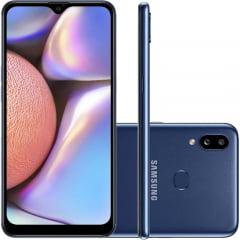 "Smartphone Samsung Galaxy A10S A107 Dual Chip 32GB/2GB 6.2"" Câmeras 13MP + 12MP e 8MP"